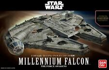 Bandai 1:144 Star Wars Millennium Falcon Plastic Model Kit 202288 BAN202288