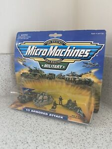 Micro Machines Military Armored Attack #3 Collection (1998) Galoob Toy