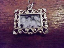 THE BEATLES STERLING SILVER PICTURE FRAME WITH SMALL PHOTO OF FAB FOUR INSIDE !
