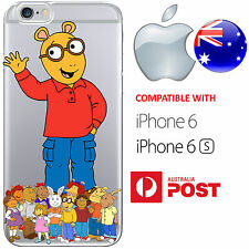 iPhone 6 6S Case Cover Silicone Arthur Aardvark Dora Winifred Buster Buster AUS