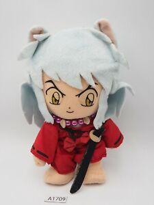 """Inuyasha A1709 Banpresto 2002 Plush 8""""  Stuffed Toy Doll Japan"""