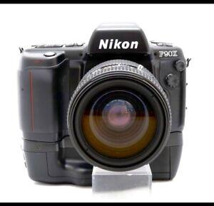 Nikon F90X 35mm SLR Film Camera w/ AF NIKKOR 35-70mm+MB-10!! From JAPAN