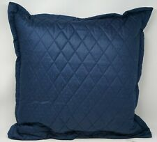"Ralph Lauren Bedford Quilted Decorative Throw Pillow 20"" x 20"" - Highland Navy"