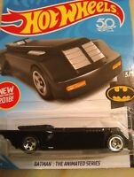 "2018 Hot Wheels  Batman ""The Animated Series Batmobile"" New Model for 2018"