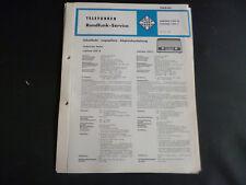 Original Service Manual Telefunken Jubilate 1351 K Jubilate 1351 L