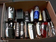 COLIBRI  jet  LIGHTERS  LOT OF 20  REPAIR OR PARTS