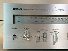 Vintage Yamaha CT-810 Natural Sound AM/FM Stereo Tuner Tested Working