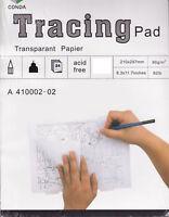 Transparent Papier 24 Blatt  DIN 4