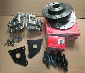 Fiat 126 Front brake Disc Conversion Kit BREMBO MAX 4x98 PCD