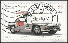 Mercedes 300 SL Flügeltürer - Baujahr 1954 - gestempelt - Mi.Nr. 2291