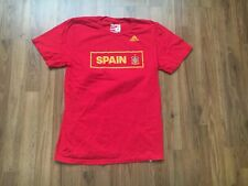 Team Spain National Team SUPER AWESOME Adidas Sz M Soccer Futbol Jersey T Shirt!