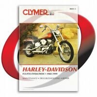 1994-1999 Harley Davidson FLSTC Heritage Classic Softail Repair Manual Clymer
