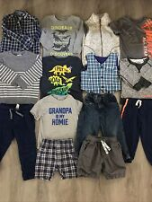 Toddler Boys Clothing Lot, 14 Items, 2T, Cat & Jack, Carter's, Jumping Beans