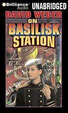 On Basilisk Station 1 by David Weber (2009, CD, Unabridged)! 13 discs! BRAND NEW