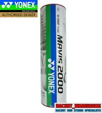5 x TUBES YONEX MAVIS 2000 BADMINTON SHUTTLES SHUTTLECOCKS RED FAST JAPAN