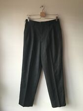 Comme Des Garcons Striped Wool Trousers Size Small