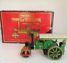 MATCHBOX Models Of Yesteryear Y-21 3 1894 Aveling-Porter Steam Roller