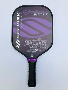 Selkirk Sport Pickleball Paddle Epic 30P XL Enrique Signature Purple New