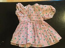 Doll Terri Lee Clothing Terri Lee Dress faded tag 1950's