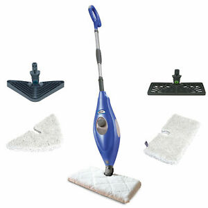 Shark Deluxe Steam Pocket Mop and Multi Surface Floor Cleaner, Blue   S3501