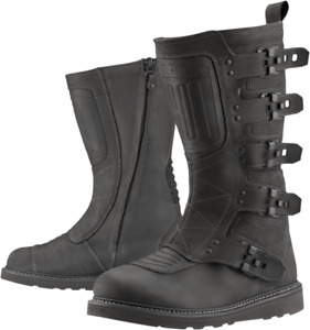 Icon Elsinore 2 Boots 10 Black 3403-1130