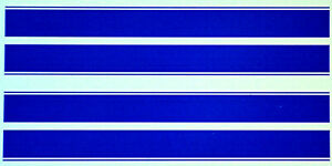 Renn, Race, Viper, Rallye Streifen Stripes blau blue 1:18 Decal Abziehbilder