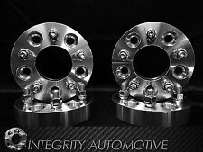 4 WHEEL SPACERS 5X5.5 | 2 INCH THICK 50MM | 9/16 STUDS 02-11 DODGE RAM 1500 USA