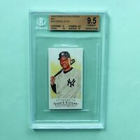 2009 Topps Allen & Ginter Mini # 323 Derek Jeter BGS 9.5 Gem Mint 9  9.5 9.5 10