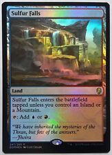 4x FOIL Sulfur Falls Near Mint Magic card rare dual land standard Dominaria x4
