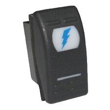 Spark Symbol 267b Rocker Switch 12v 16a Universal On Off Blue Atv Tundra