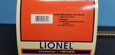 Lionel Pullman Baby Madison Car 2-pack