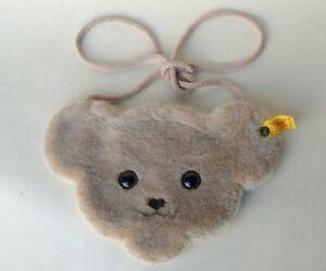 Vintage Steiff Bear Shoulder Bag Toy Teddy 9 inch.