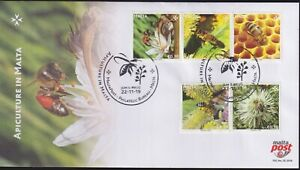 Malta 2019 Fauna, Insects, Honeybees, Bees, Apiculture FDC