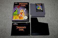 Nintendo NES - Dragons Lair - Complete - PAL A - VGC - UKV - Collectors