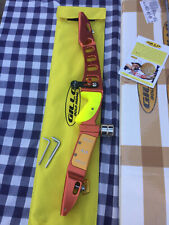 Gillo G1M 25 inch Orange archery recurve riser - right handed  With  Extras