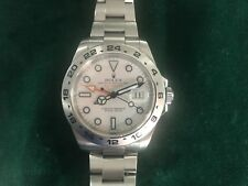 Rolex Explorer 2 ref 216570 Polar white, G serial 2010. 42 mm