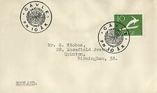 A6715cgt Sweden 24OCT1955 United Nations CAVLE FN 10 AR Snow Skiing Stamp cover