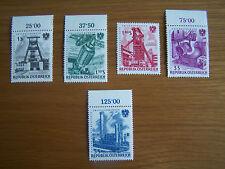 AUSTRIA 1961,NATIONALIZED INDUSTRIES SET OF 5 VALS,.U/MINT.EXCELLENT.