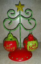 Christmas ornaments SALT AND PEPPER SHAKERS from Crackle barrel