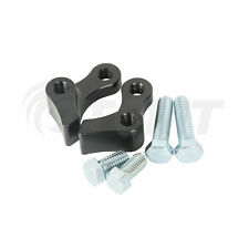 "Black Adjustable 1"" Rear Lowering Kit For Harley Dyna Street Fat Bob 1995-2005"