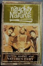 Naughty By Nature:  Nature's Fury (Cassette, 1999, Arista) NEW