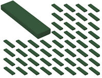 ☀️50x NEW LEGO 1x4 DARK GREEN Tiles (#2431) BULK Parts City Building Star wars