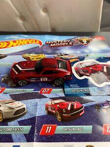 Hotwheels Mystery models Series 2 Datsun 240Z Sealed in Mystery Bag.
