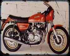 Benelli 504 Sport 80 A4 Metal Sign Motorbike Vintage Aged