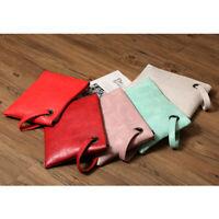 Fashion Women PU Leather Handbag Party Evening Envelope Clutch Bag Purse Tote