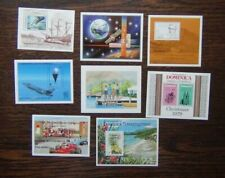 Dominica 1979 1983 Whales Flight Cars Christmas Trees Guides Cook M/S MNH