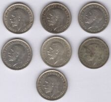 More details for george v silver threepence coins | bulk coins |pennies2pounds