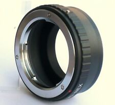 Minolta MD MC Lens to Sony E Mount Adapter Nex 3 Nex 5 Nex-6 Nex-7 MD-NEX