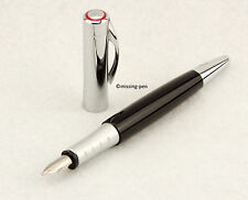 "Rotring Initial Fountain Pen Black - Silver with ""M"" nib"