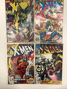 Uncanny X-Men 272 282,283,284 * 4 Book * 1st Bishop, Trevor Fitzroy! Marvel NM